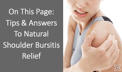 Shoulder Bursitis Treatment - OSMO Patch